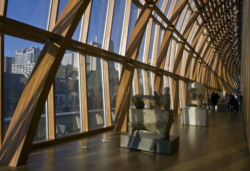 Художественная галерея строить Онтарио стоковая фотография