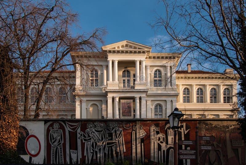 Художественная галерея Plovdiv стоковое фото