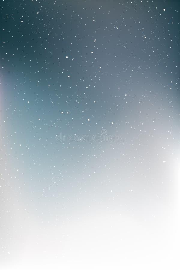 Художественная предпосылка ночного неба иллюстрация штока