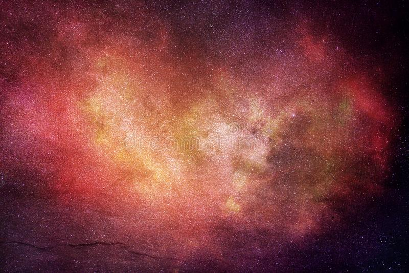 Художественное произведение галактики цифров конспекта художественное современное пестротканое стоковая фотография