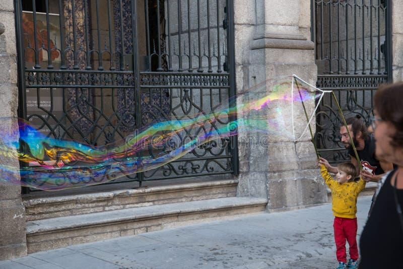 Художники улицы Порту, Португалии стоковое изображение rf