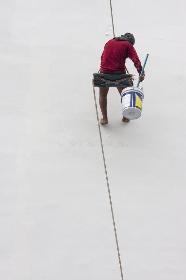 Художник в Таиланде стоковая фотография