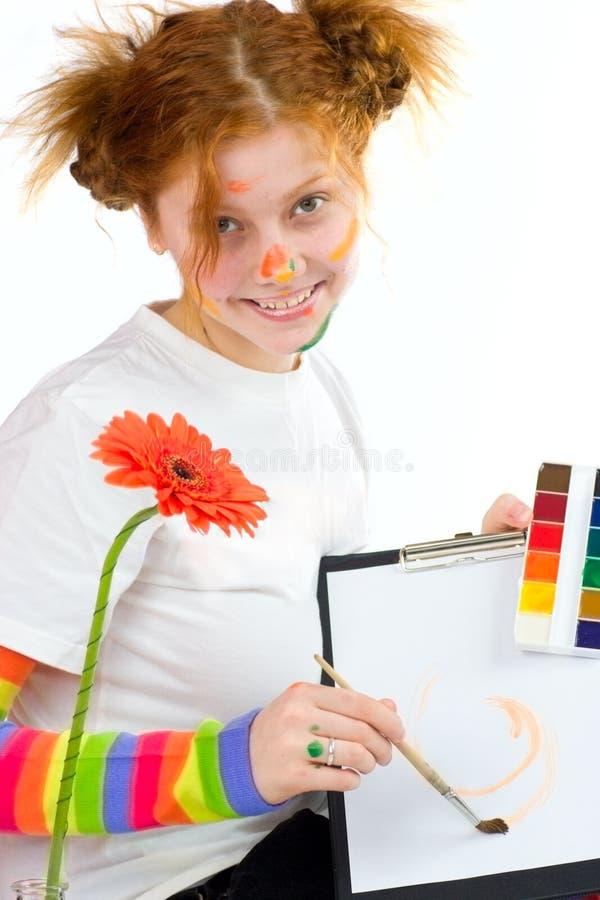 художник смешной стоковые фото