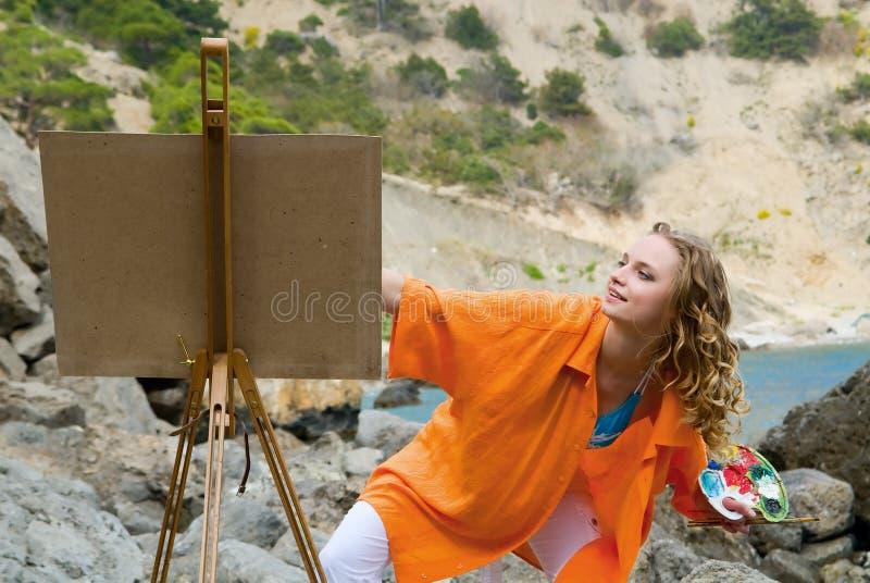 художник стоковые фото
