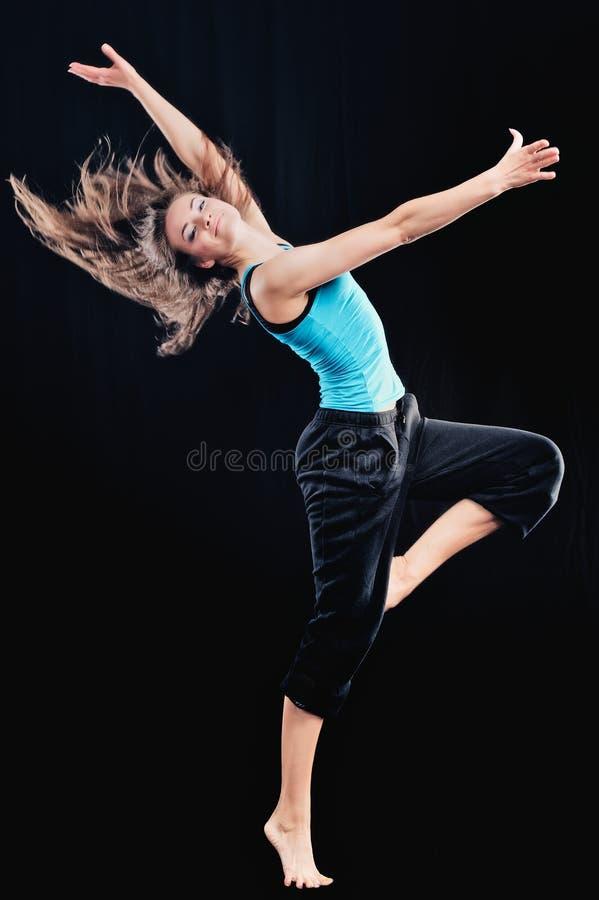 Художническая гимнастика стоковое изображение rf