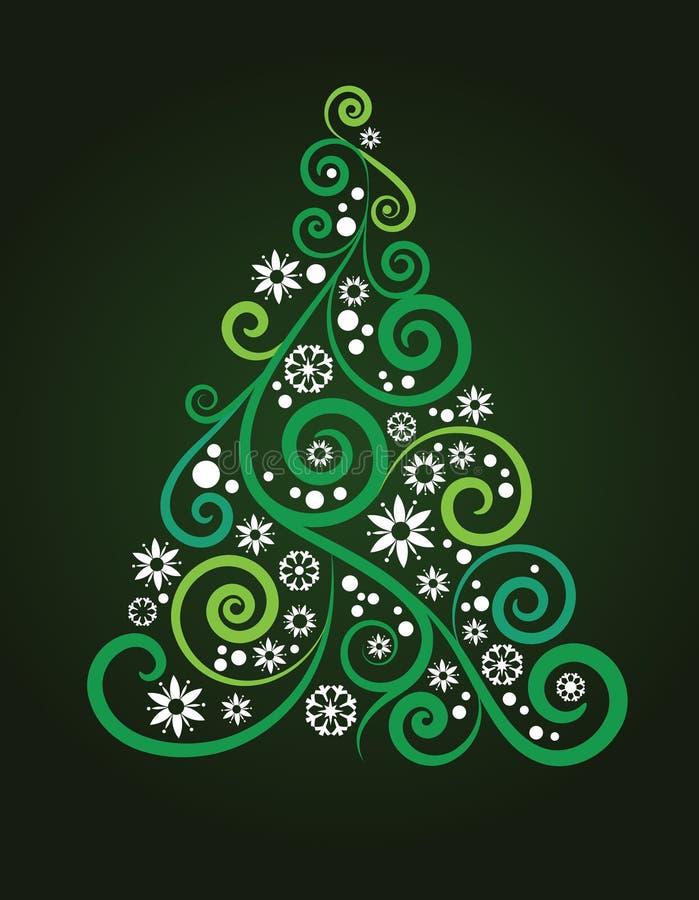 Художническая рождественская елка