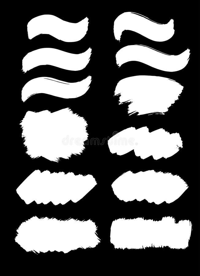 Художнические ходы и формы краски бесплатная иллюстрация
