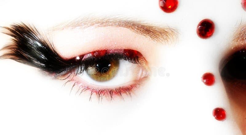 художнический глаз стоковые изображения rf