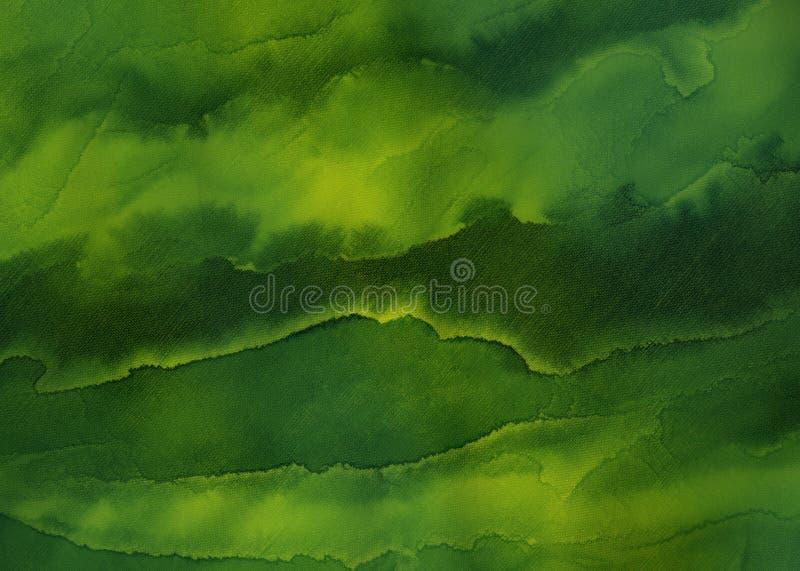 художнический зеленый цвет Стоковая Фотография
