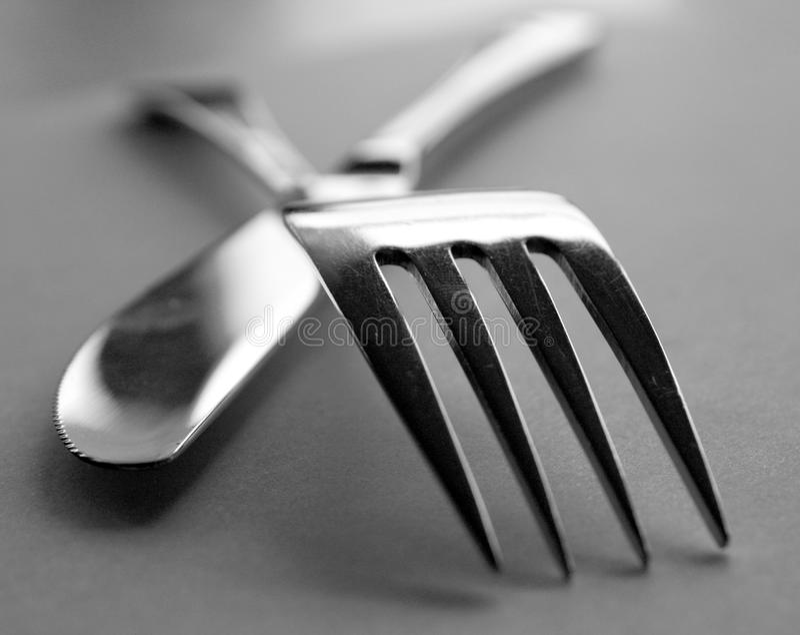 художнический cutlery стоковые изображения rf