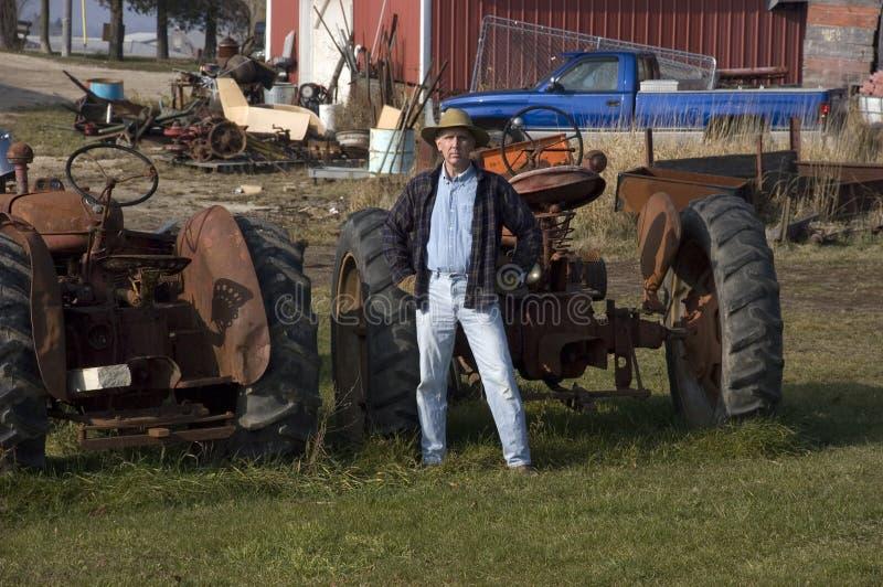 хуторянин оборудования стоковое фото rf