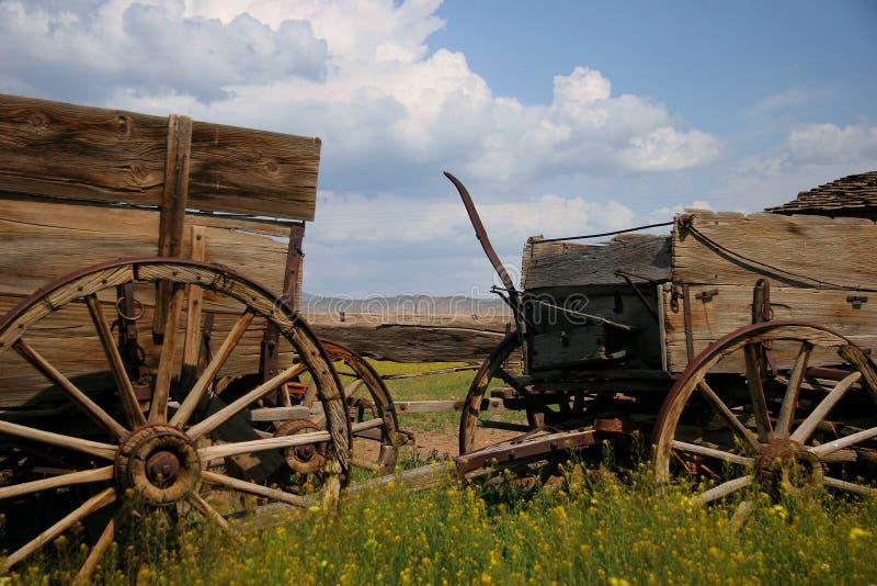 хуторянин тележки стоковые фото