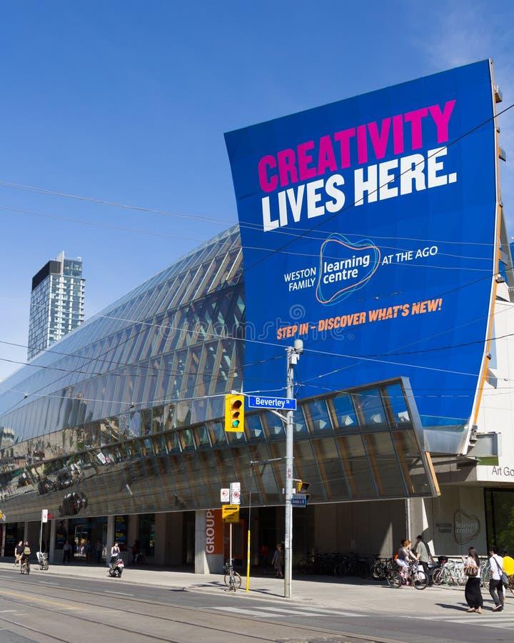 Художественная галерея Онтарио Торонто стоковые изображения rf