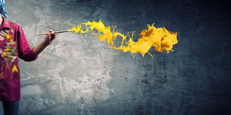Download Художник человека стоковое изображение. изображение насчитывающей ново - 41650835