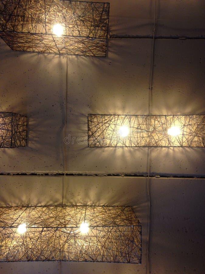 Художническая молния, лампочки стоковое фото rf