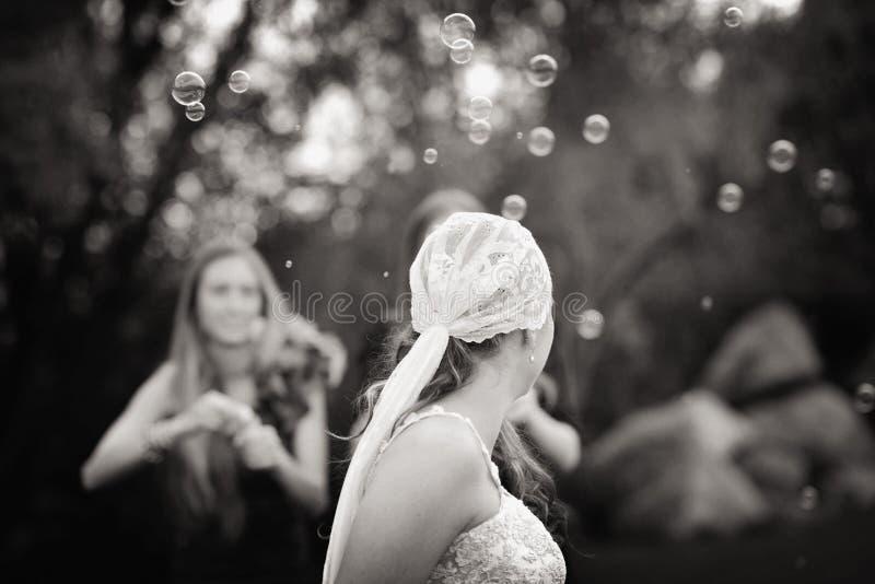 Художническая невеста стоковые фотографии rf