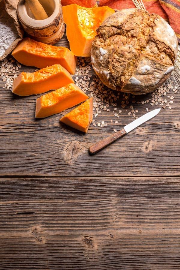 Хлебец хлеба тыквы sourdough стоковые фото