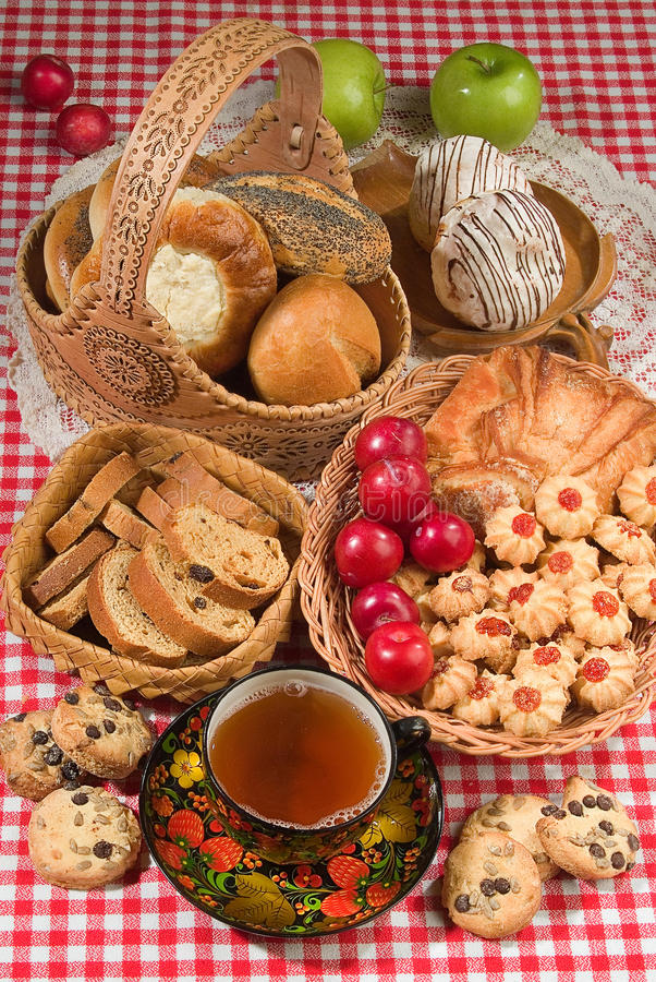 Хлеб в человеческой жизни стоковое изображение