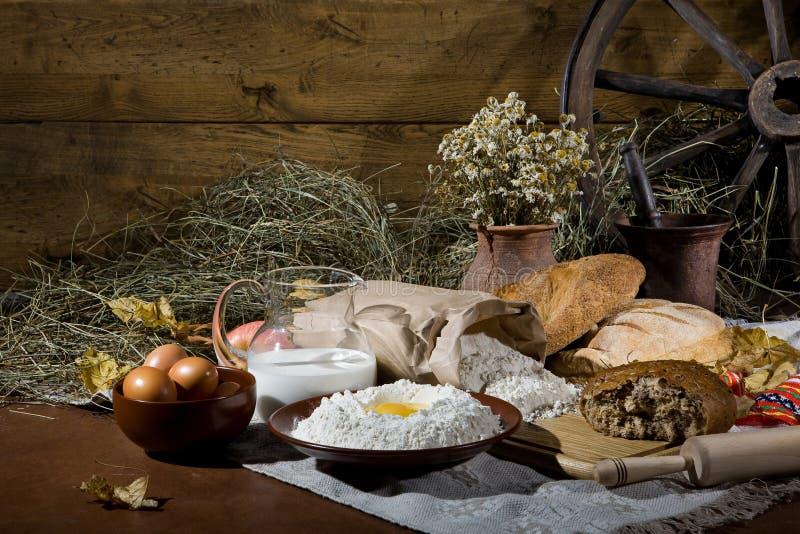 Хлеб в человеческой жизни стоковая фотография rf