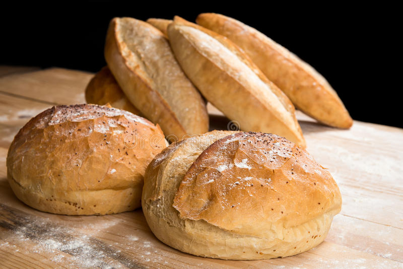 Хлеб деревенский стоковые изображения rf