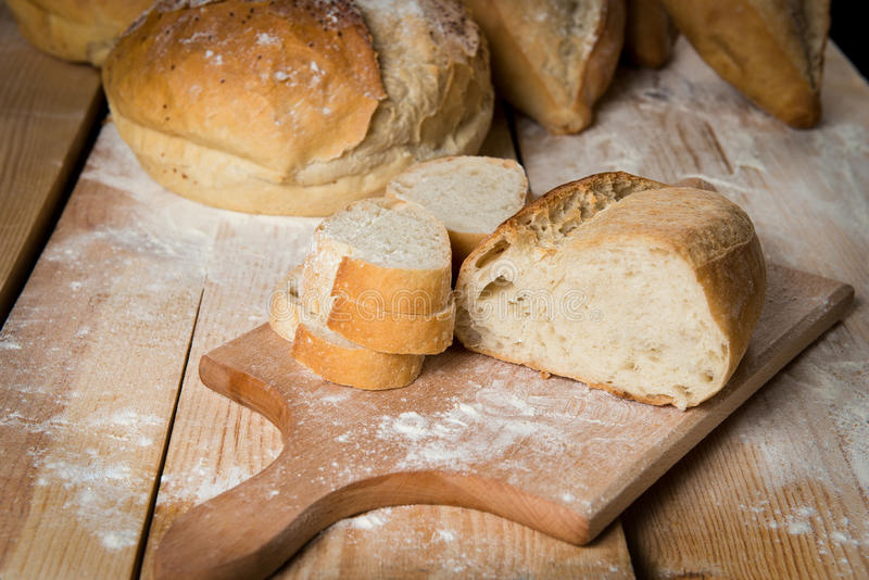 Хлеб деревенский стоковые фотографии rf