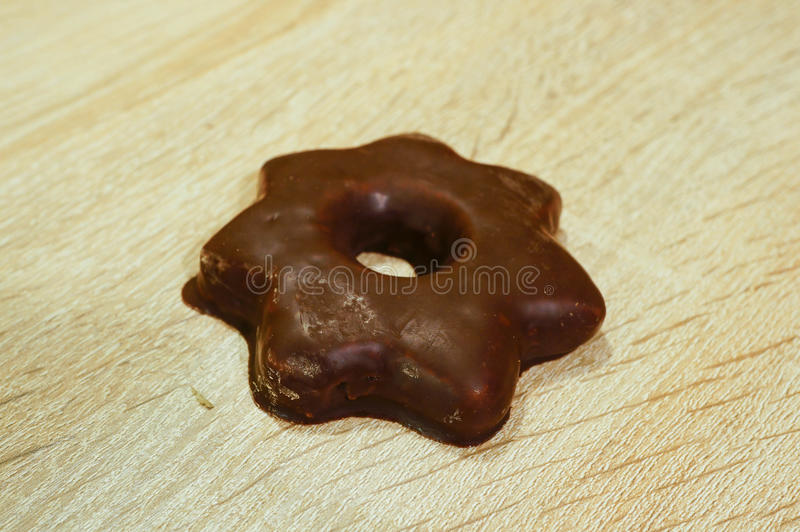 Хлеб имбиря шоколада стоковые фотографии rf