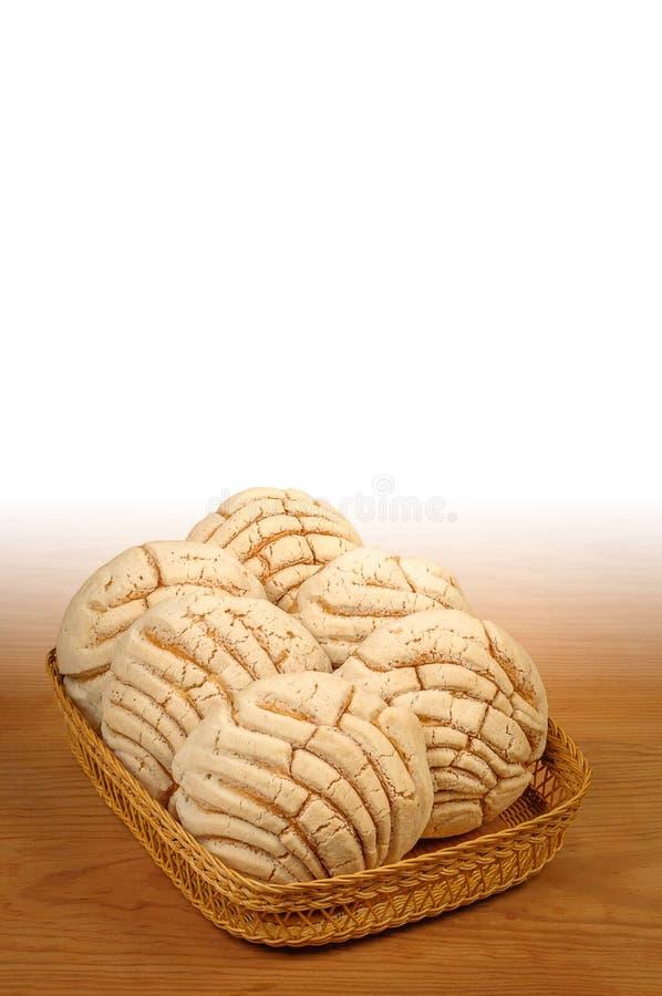 Хлеб помадки Conchas мексиканца стоковые фотографии rf