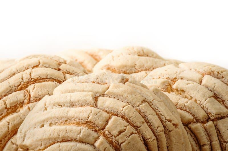 Хлеб помадки Conchas мексиканца стоковая фотография rf