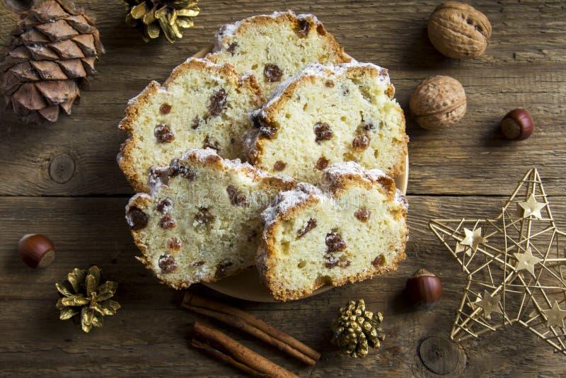 Хлеб плодоовощ рождества стоковое изображение