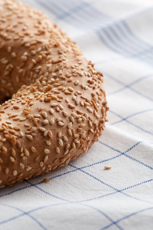 Хлеб с семенами sessame стоковые изображения rf