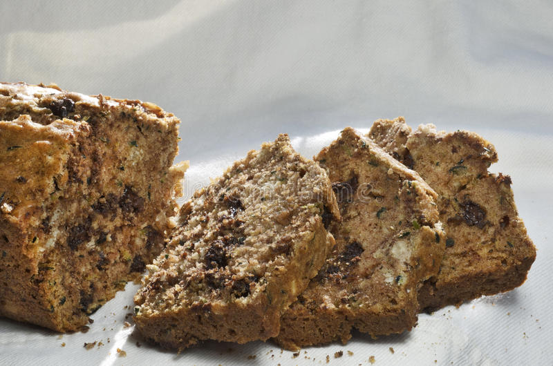 Хлеб цукини стоковое фото rf
