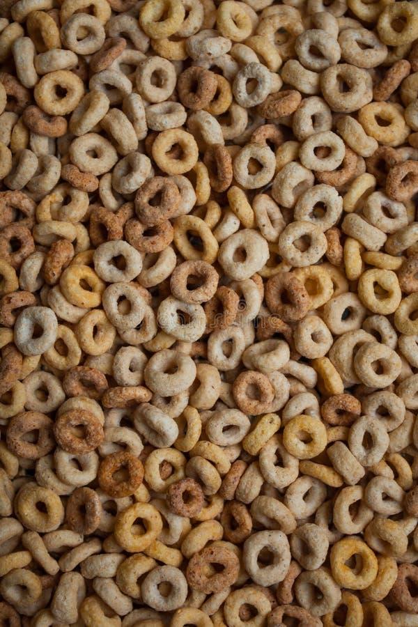 Хлопья для завтрака обруча стоковое изображение rf