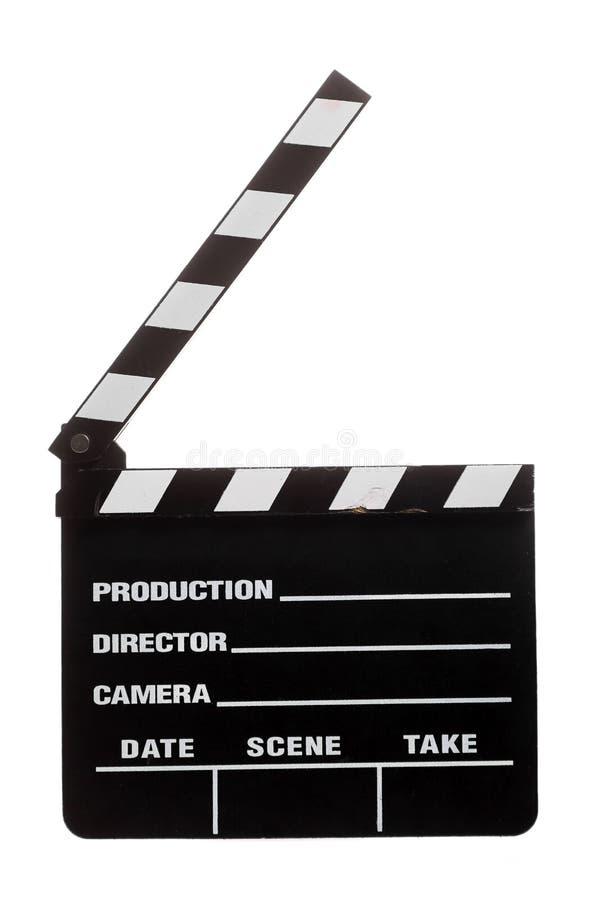 Хлоп кино стоковая фотография