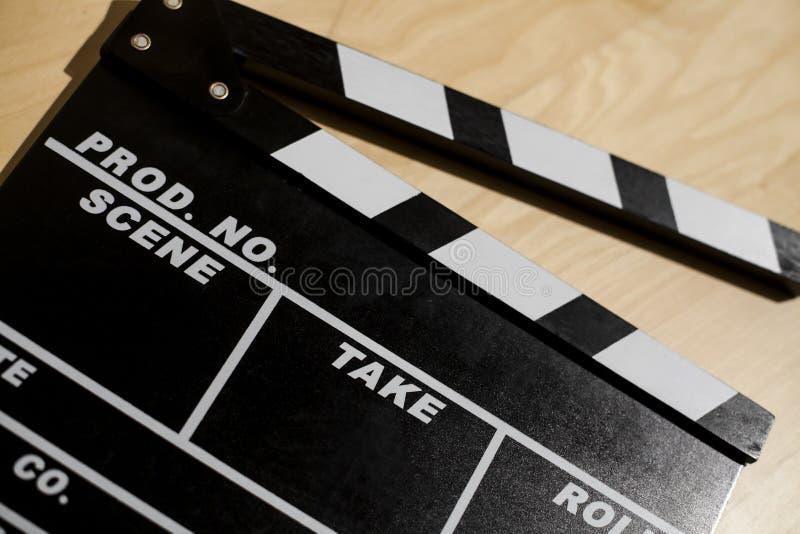 Хлоп кино стоковые изображения rf