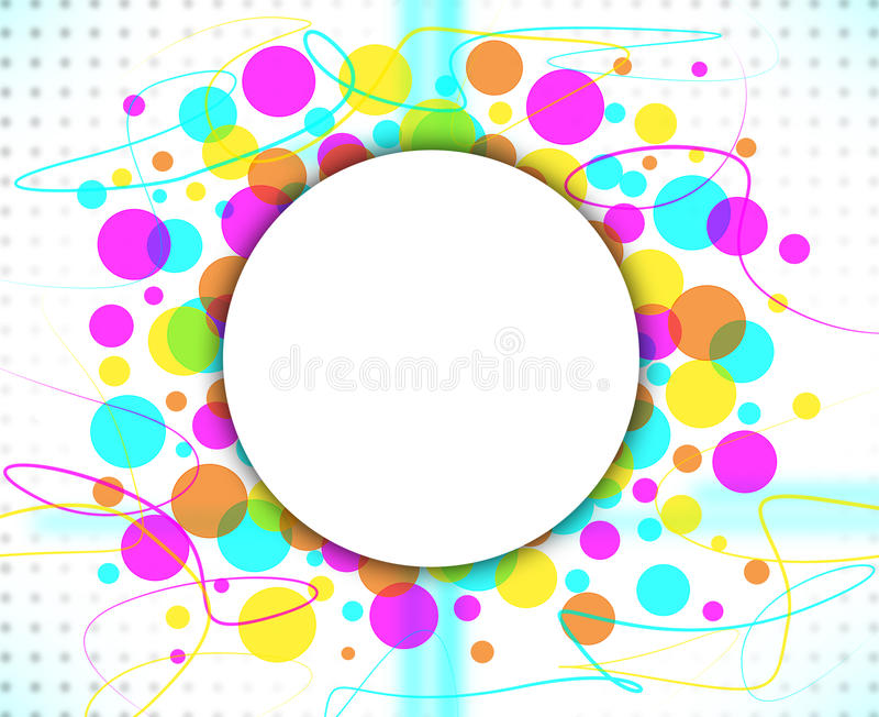 Цветастая абстрактная предпосылка с стоковое изображение rf