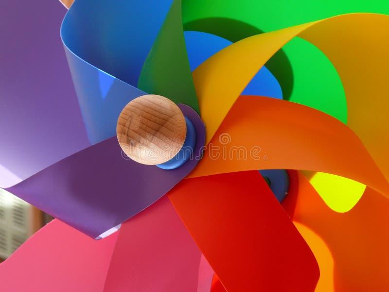 цветастая ветрянка Стоковое фото RF