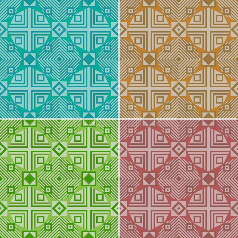 цветастая геометрическая картина безшовная традиционно этническо бесплатная иллюстрация