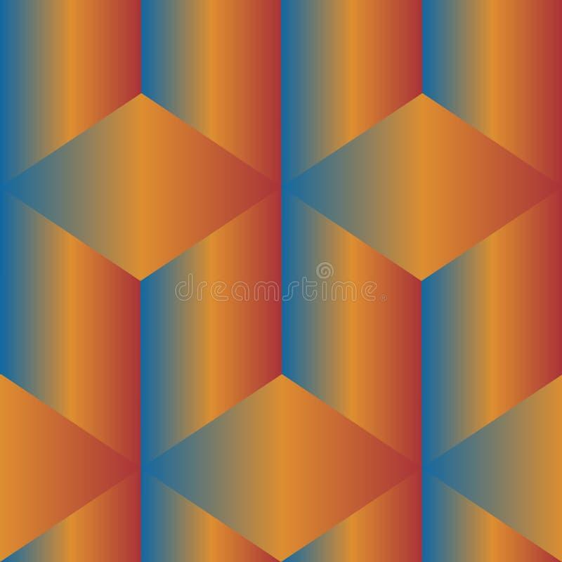 цветастая геометрическая картина безшовная стоковые изображения rf