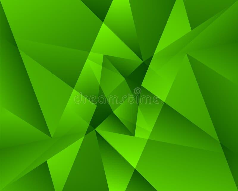 цветастая геометрическая картина Триангулярные смешанные формы Аннотация иллюстрация штока