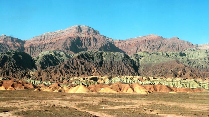 цветастая гора стоковое изображение