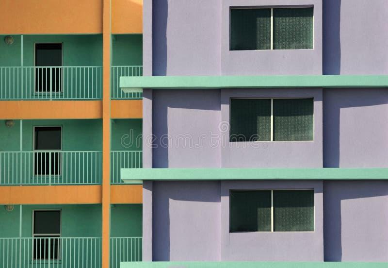 цветастая гостиница стоковое фото rf