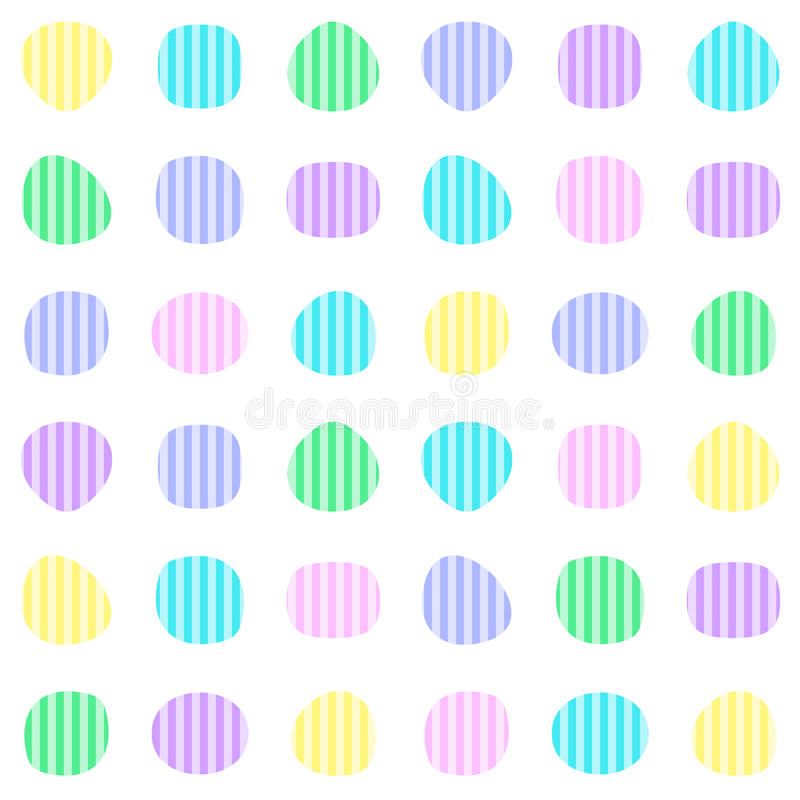 цветастая картина безшовная иллюстрация вектора
