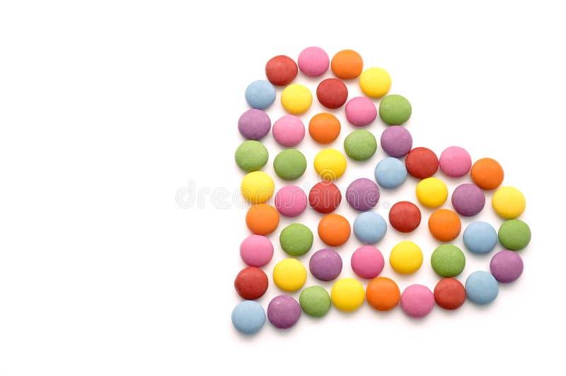 Цветастая конфета шоколада стоковые изображения rf