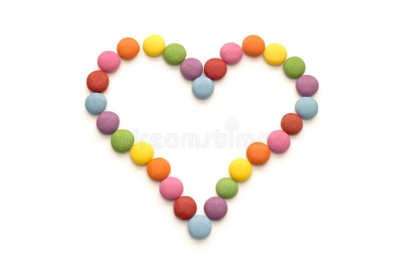 Цветастая конфета шоколада стоковые фотографии rf