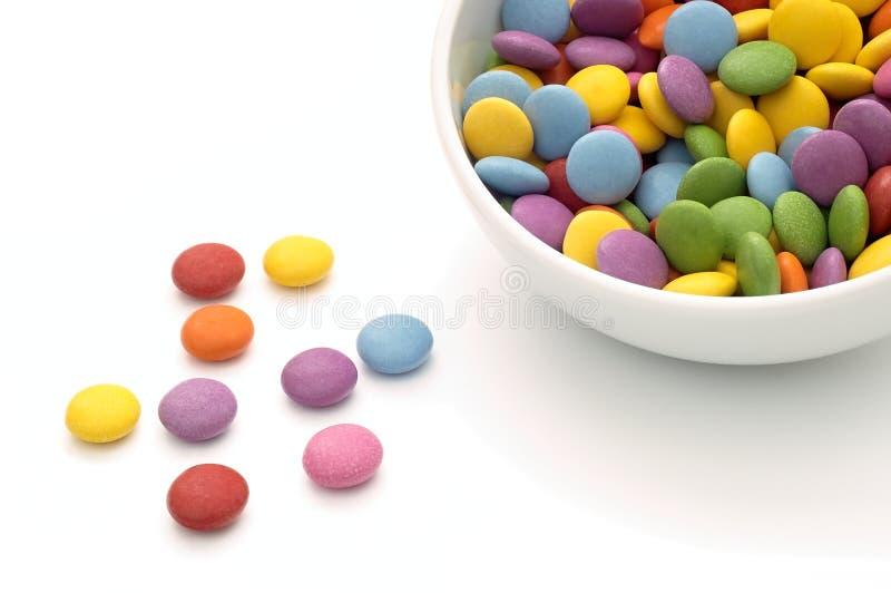Цветастая конфета стоковое изображение rf