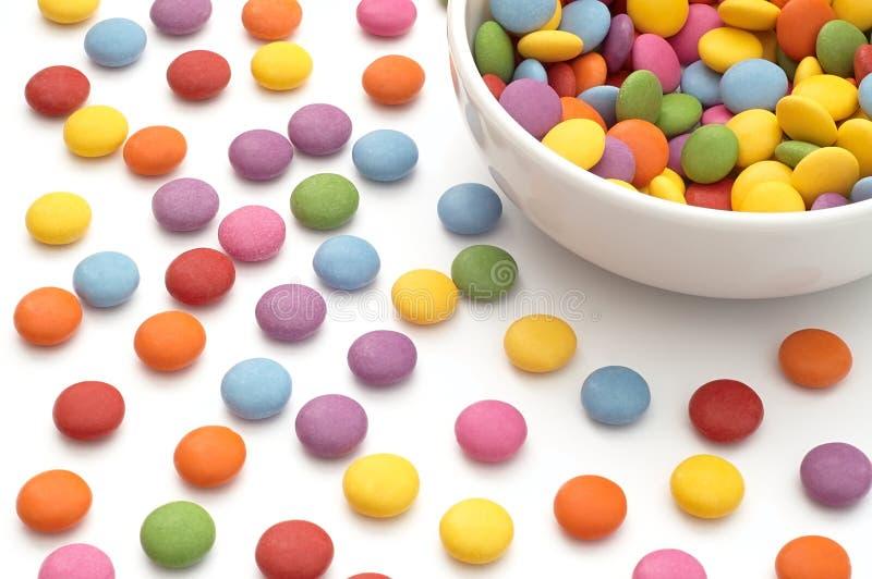 Цветастая конфета стоковая фотография rf