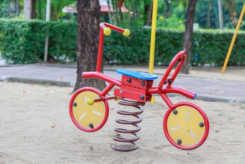 Цветастая спортивная площадка детей стоковые изображения rf