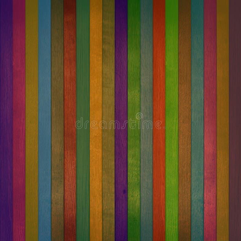 цветастая стена текстуры деревянная стоковые фото