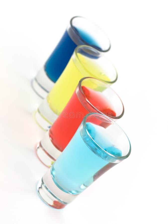 цветастая съемка стекел стоковое изображение rf