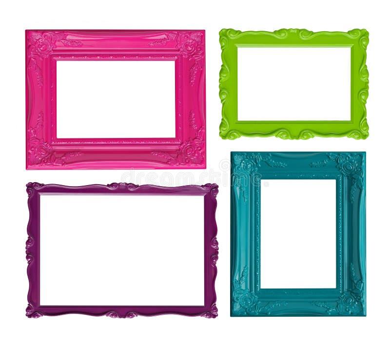 цветастое изображение рамок стоковое фото rf